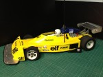 RM-01 rims & tyres on a Renault