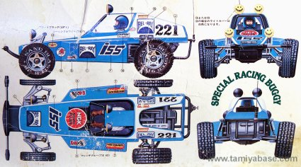 "Rough Rider box art blue and white ""Bel-Ray"" livery"
