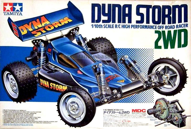 Box art of the original 58116 Dyna Storm