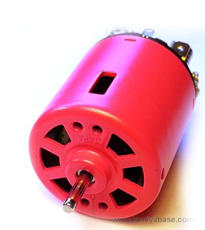 "The ""no name"" pink Tamiya motor"