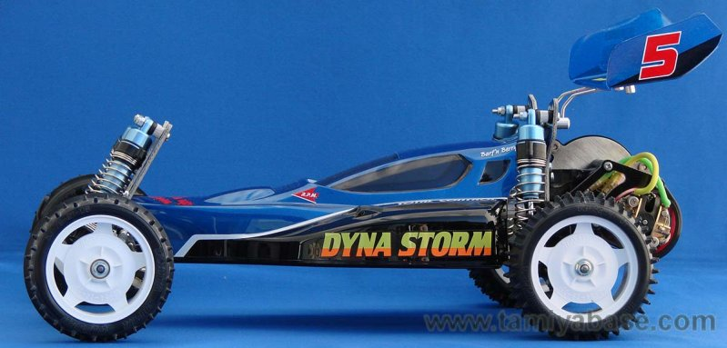 Tamiya Dyna Storm side view
