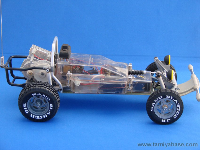Tamiya Rough Rider SRB chassis, side view