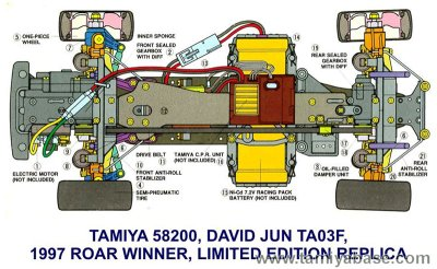 TA03F-Pro David Jun chassis x-ray
