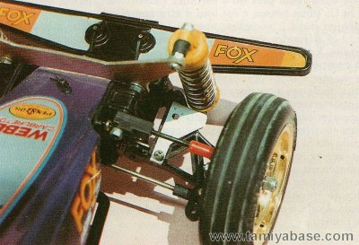 Fox modified horisontal suspension