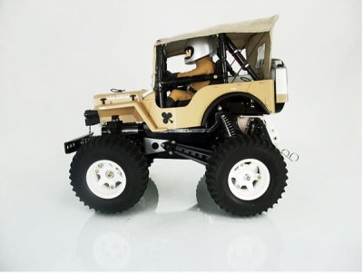 Tamiya Wild Willy canopy