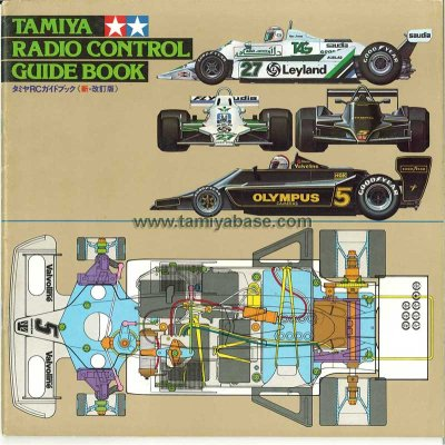 tamiya guide book 1981 Japan