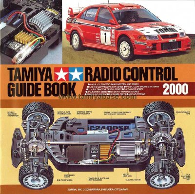 tamiya guide book 2000