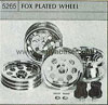 Tamiya 50265 FOX PLATED WHEEL