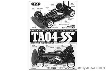 Tamiya INSTRUCTIONS (FOR CHASSIS) 11050123