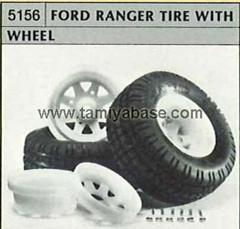 Tamiya FORD RANGER TYRE WITH WHEEL 50156