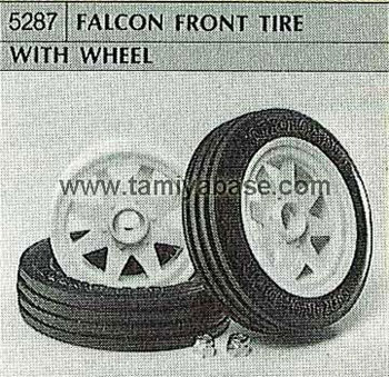Tamiya FALCON FRONT TYRE WITH WHEEL 50287