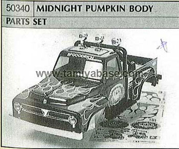 Tamiya MIDNIGHT PUMPKIN BODY PARTS SET 50340