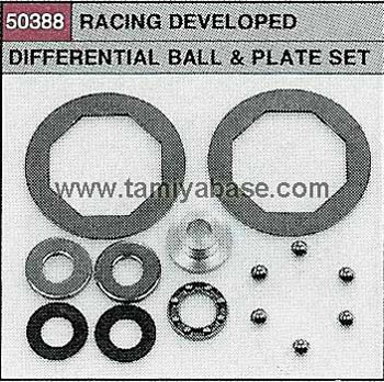 Tamiya RACING DEVELOPED DIFFERENTIAL BALL & PLATE SET 50388