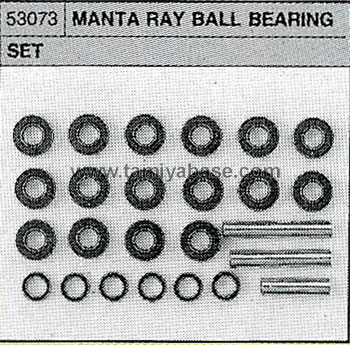 Tamiya BALL BEARING SET 53073