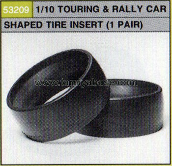 Tamiya TOURING AND RALLY CAR SHAPED TIRE INSERT 53209