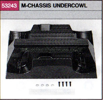 Tamiya M-CHASSIS UNDER COWL 53243