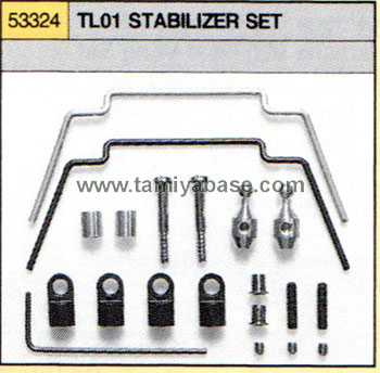 Tamiya TL01 STABILIZER SET 53324