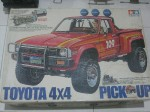 my old toyota 4x4 pick up