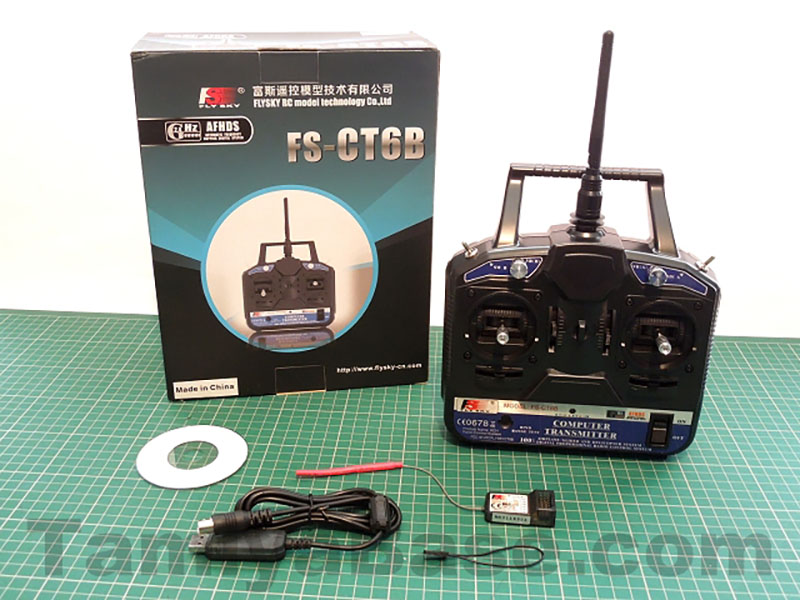 Review: FlySky FS-CT6B/FS-R6B 2.4Ghz Stick Radio Combo