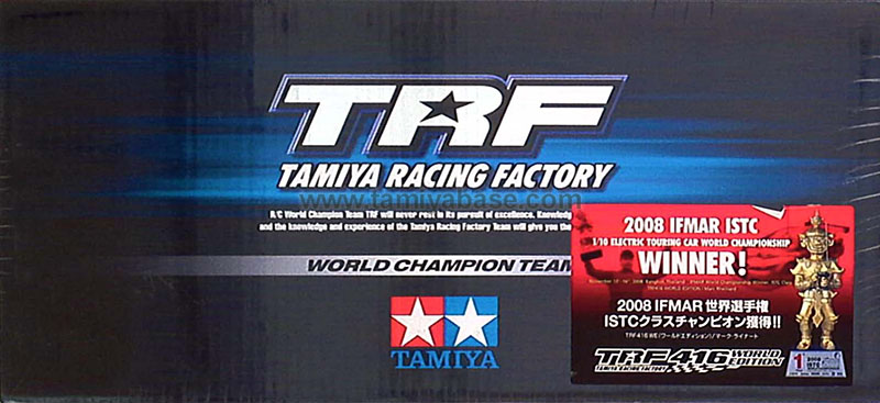 Tamiya TRF416 chassis kit World Edition 42138