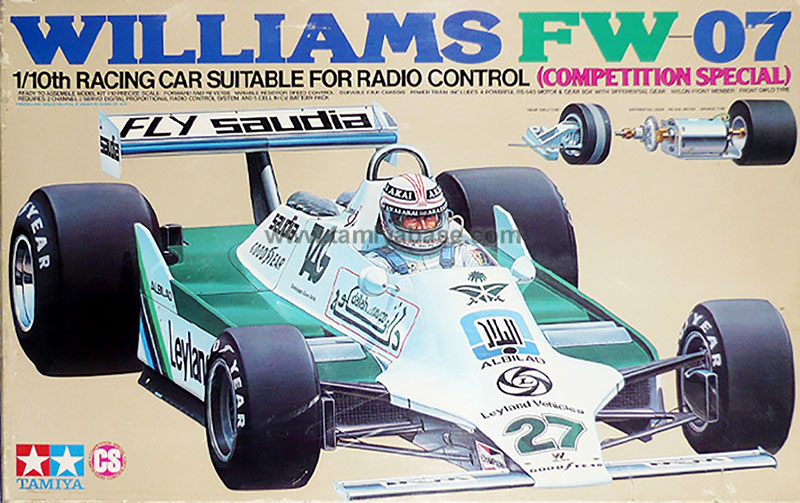 Tamiya Williams FW07 58019