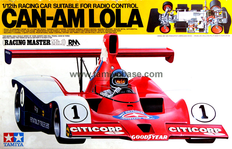Tamiya Can-Am Lola 58021