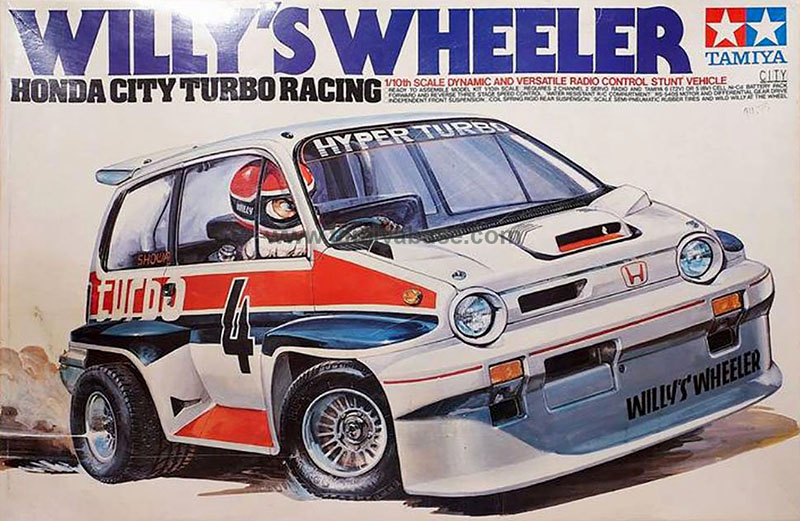 Tamiya Willy\'s Wheeler 58039