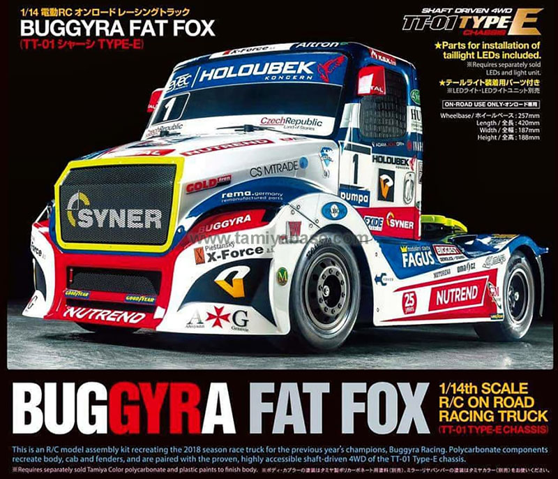 Tamiya Buggyra Fat Fox 58661
