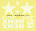 Tamiya 58004_1 XR311 decal